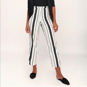 Amuse Society Striped Pants